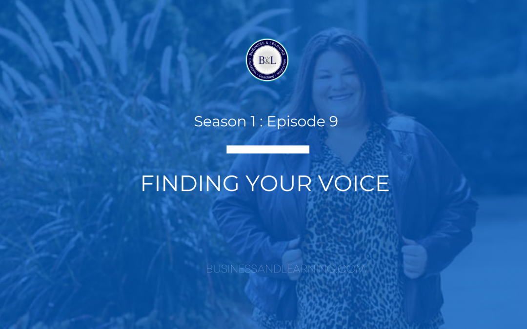 Finding Your Voice with Tishia Lee :: Episode 9